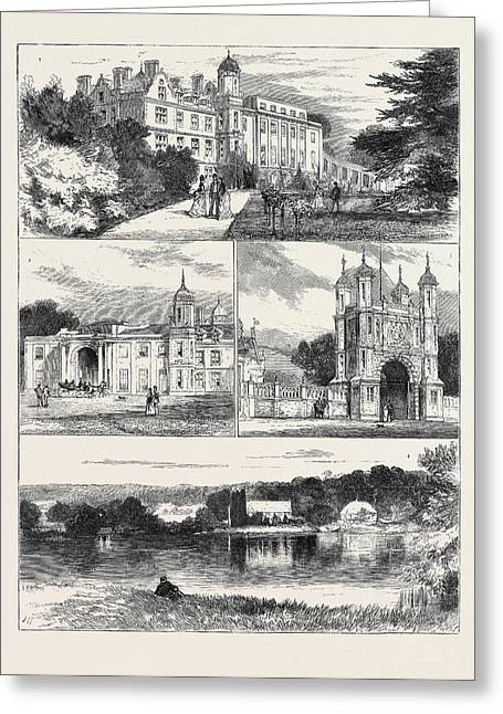 Eastwell Park, Country Seat Of The Duke And Duchess Greeting Card