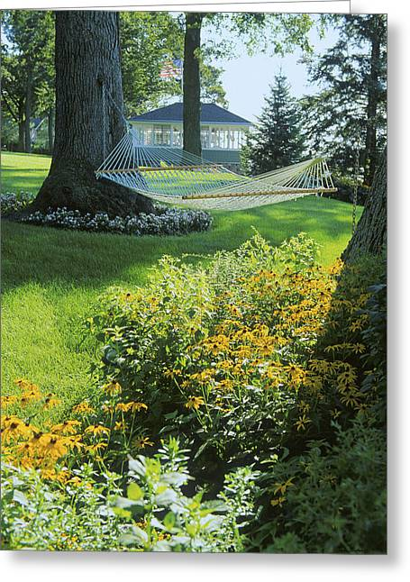 Easy Living - Lake Geneva Wisconsin Greeting Card by Bruce Thompson
