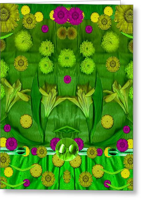 Eat With Your Senses Greeting Card by Pepita Selles