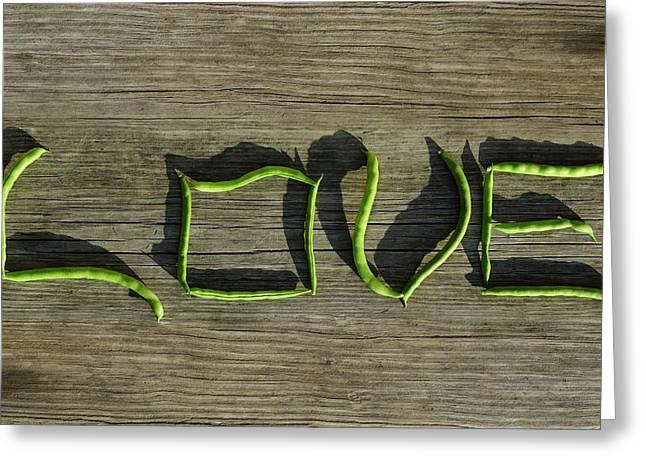 Eat Your Veggies Greeting Card by Luke Moore
