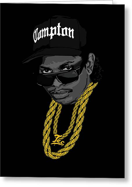 Eazy Greeting Card by Lawrence Carmichael