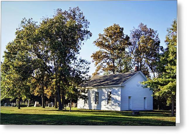 Ebenezer Chapel 1858 Greeting Card