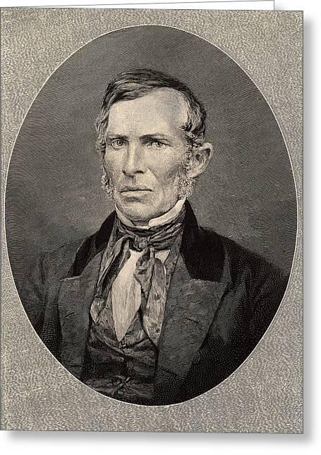 Ebenezer Evans Greeting Card