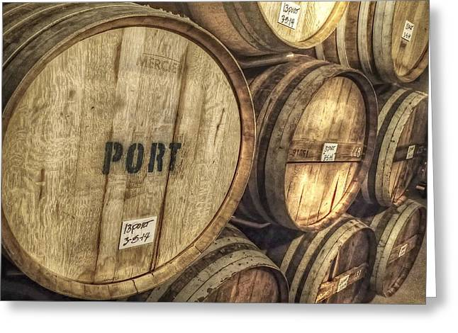 Eberle Port Greeting Card by Newman Artography