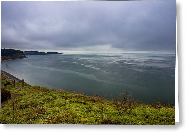 Ebey's Landing Greeting Card by Calazone's Flics