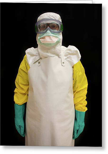 Ebola Training Centre Of Msf Greeting Card