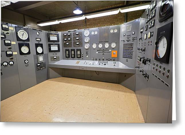 Ebr-i Nuclear Reactor Control Room Greeting Card by Jim West