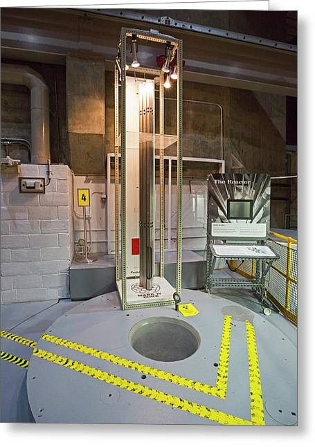 Ebr-i Nuclear Reactor Fuel Rods And Core Greeting Card by Jim West