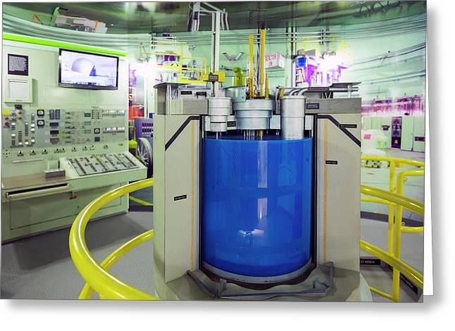 Ebr-ii Nuclear Reactor Replica Greeting Card