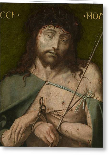 Ecce Homo   Greeting Card by  Old Master