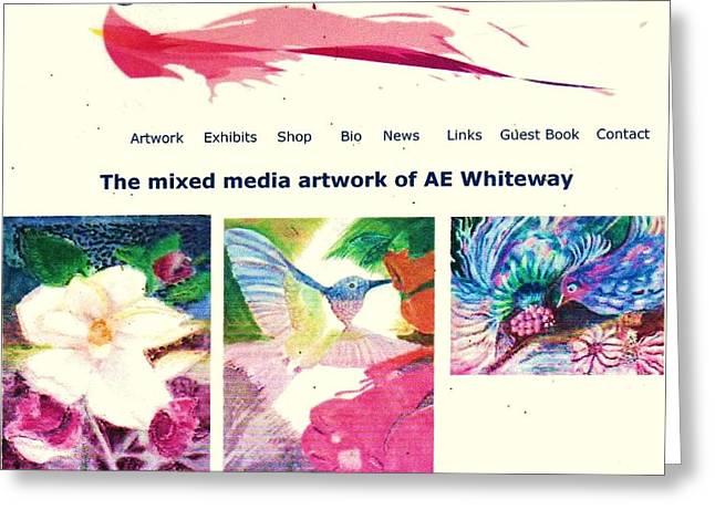 Echo Lake Art Greeting Card by Anne-Elizabeth Whiteway