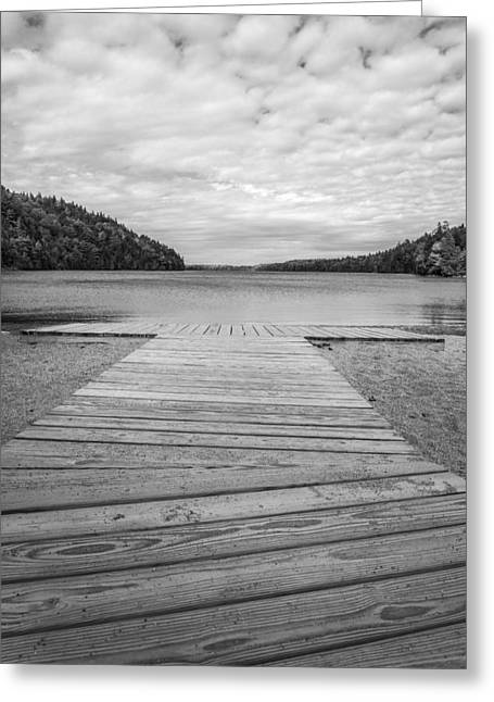 Echo Lake Greeting Card by Kristopher Schoenleber