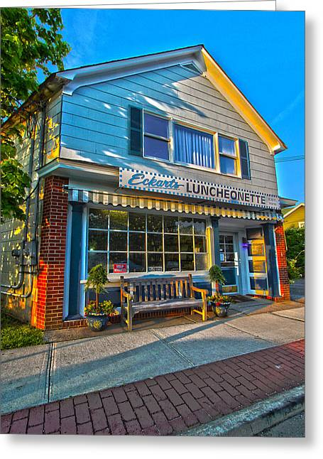Eckarts Luncheonette Greeting Card