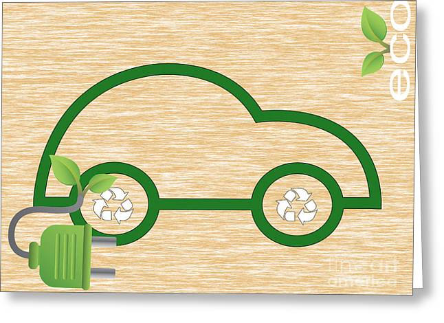 Eco Collection Greeting Card by Marvin Blaine