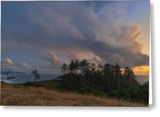 Ecola And The Oregon North Coast Greeting Card by Ryan Manuel