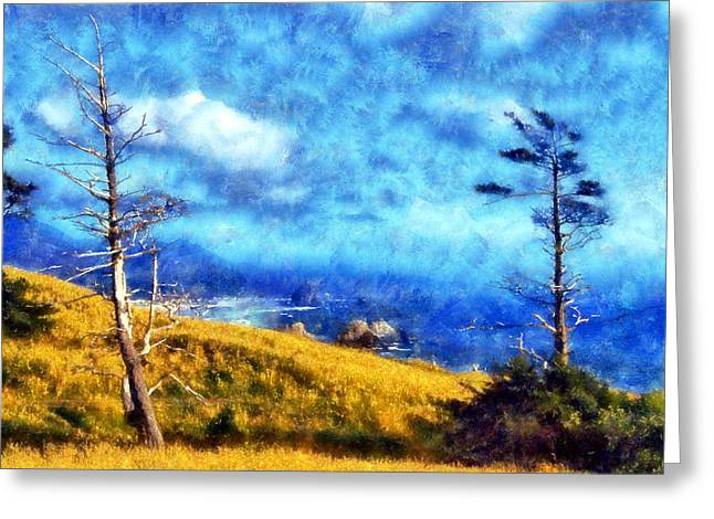 Ecola State Park Greeting Card