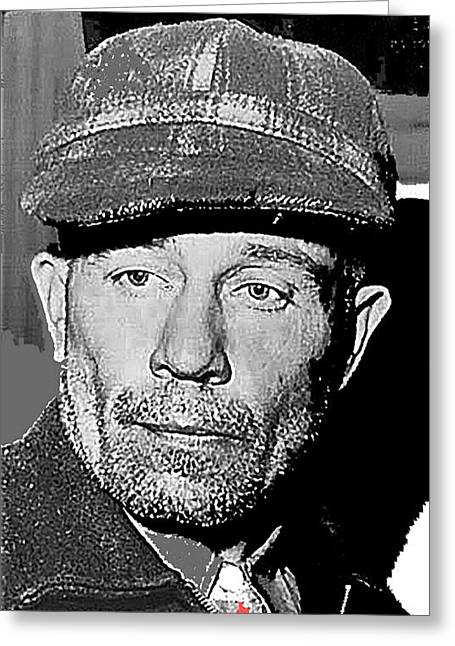 Ed Gein The Ghoul Who Inspired Psycho Plainfield Wisconsin C.1957-2013 Greeting Card