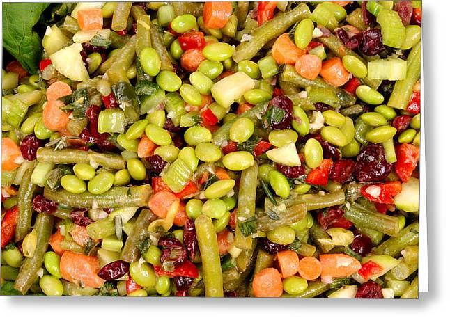 Edamame Salad Greeting Card