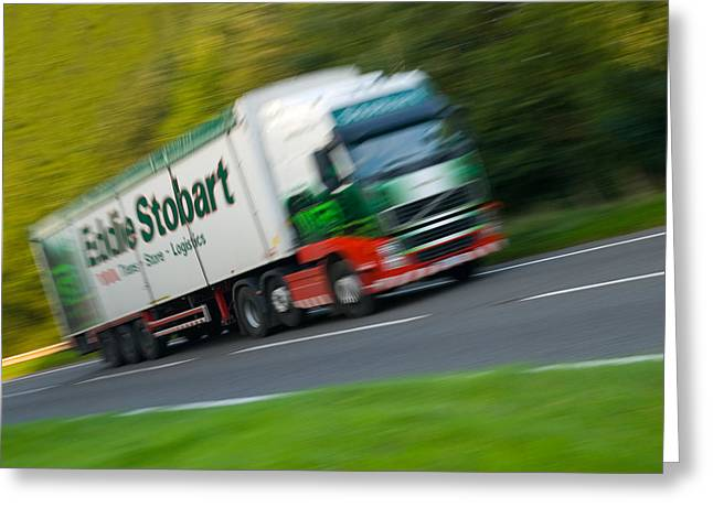 Eddie Stobart Lorry Greeting Card