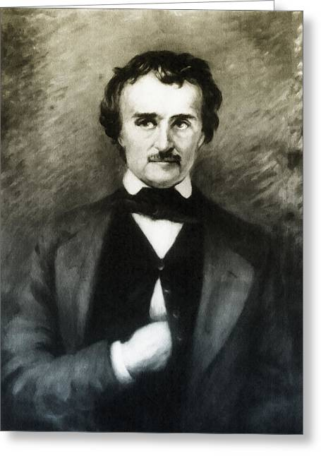 Edgar Allen Poe  Greeting Card