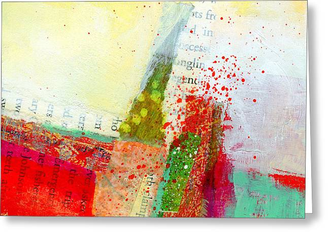 Edge  57 Greeting Card by Jane Davies