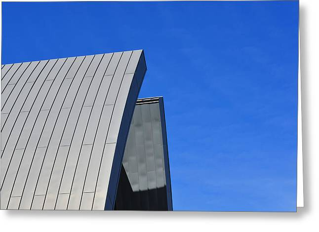 Edge Of Heaven - Architectural Photography By Sharon Cummings Greeting Card by Sharon Cummings