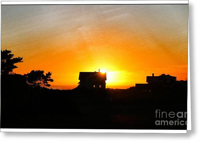 Edge Of The Mendocino Headlands Greeting Card