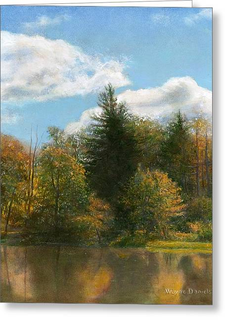 Edge Of The Pond Greeting Card
