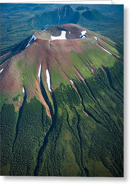 Edgecumbe Volcano Greeting Card