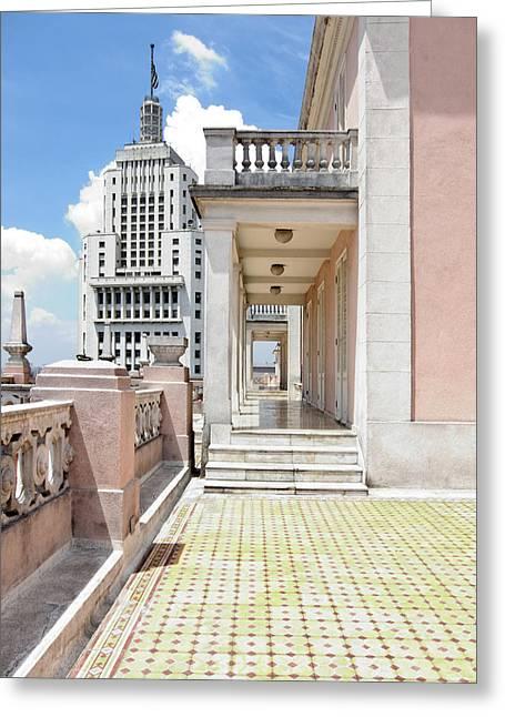 Edificios Altino E Martinelli - Sao Paulo Greeting Card