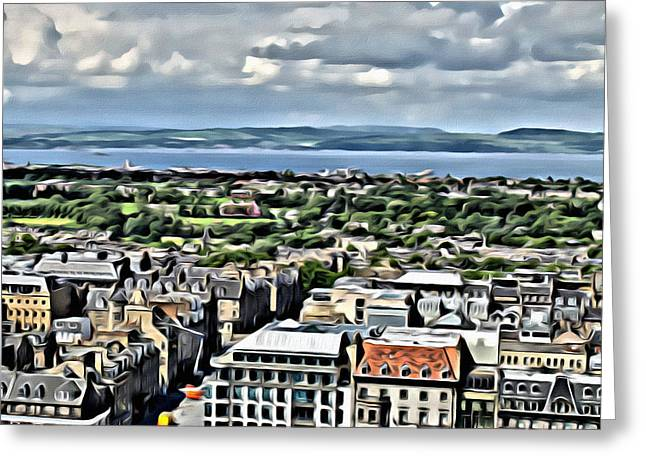 Greeting Card featuring the photograph Edinburgh by Beauty For God
