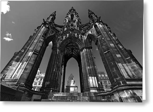 Edinburgh's Scott Monument Greeting Card