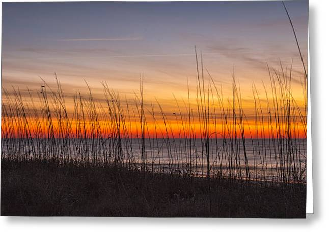 Edisto Beach Sunrise 02 Greeting Card