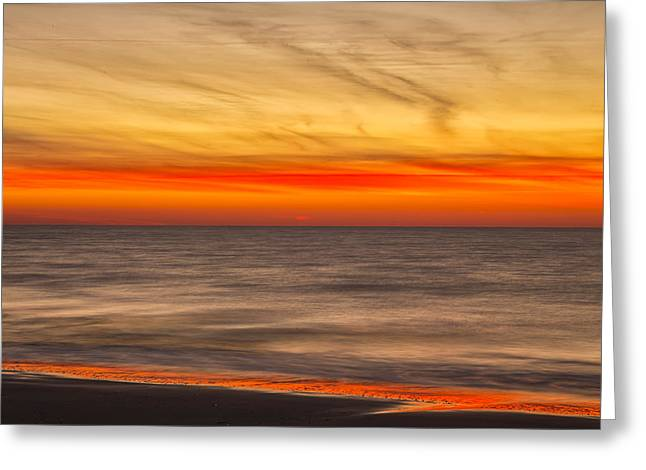 Edisto Beach Sunrise 07 Greeting Card