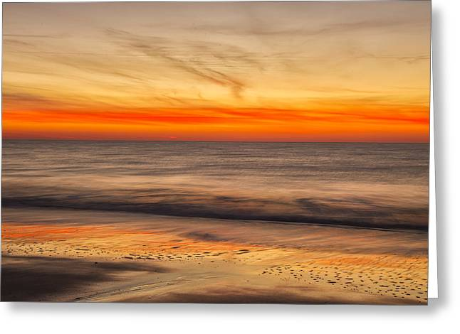 Edisto Beach Sunrise 10 Greeting Card