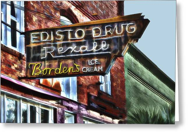 Edisto Drug Greeting Card
