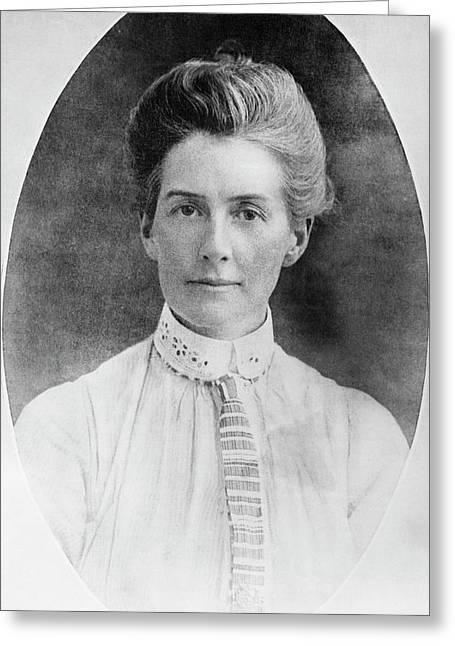 Edith Cavell Greeting Card
