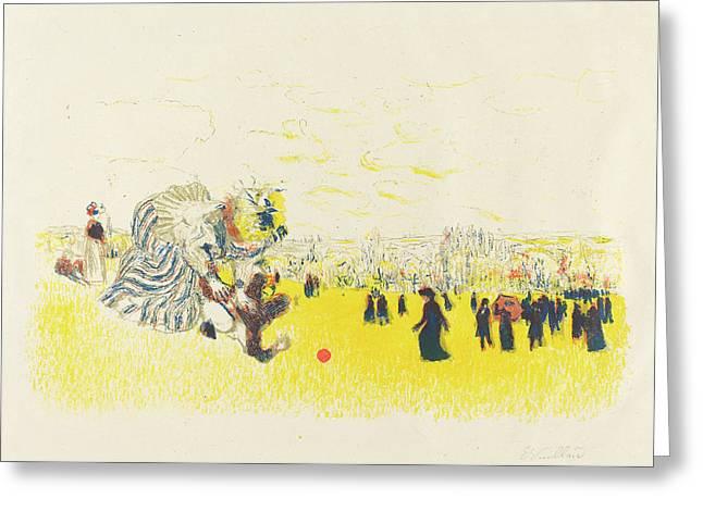 Edouard Vuillard French, 1868 - 1940, Childrens Pastime Greeting Card