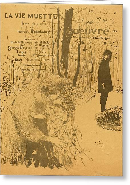 Edouard Vuillard French, 1868 - 1940, La Vie Muette Greeting Card