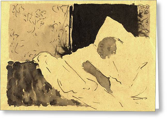 Edouard Vuillard, French 1868-1940 Greeting Card