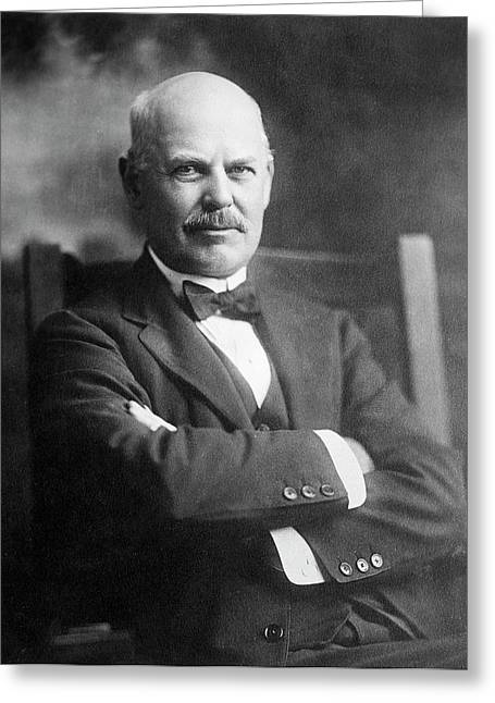 Edward Acheson Greeting Card by Chemical Heritage Foundation