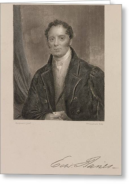 Edward Baines Greeting Card by British Library