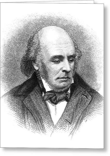 Edward Fitzgerald (1809-1883) Greeting Card by Granger