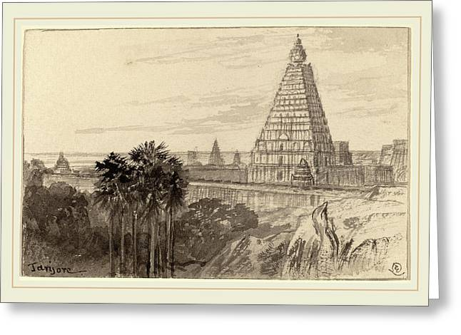 Edward Lear, Tanjore, British, 1812-1888 Greeting Card