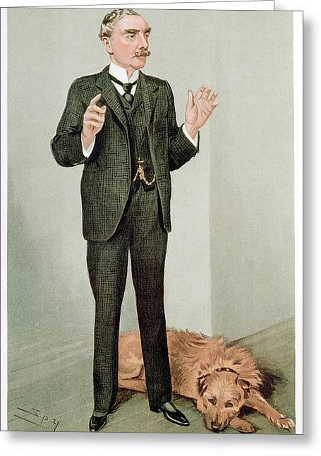 Edward Richard Henry Greeting Card by Universal History Archive/uig