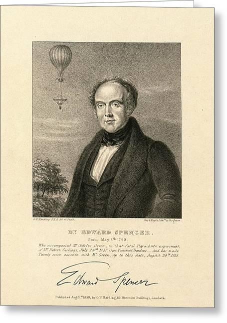 Edward Spencer Greeting Card