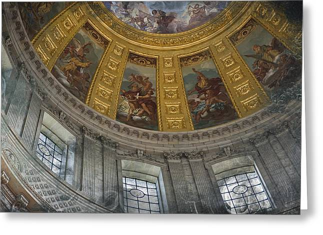 Eglise Du Dome Greeting Card by Evie Carrier