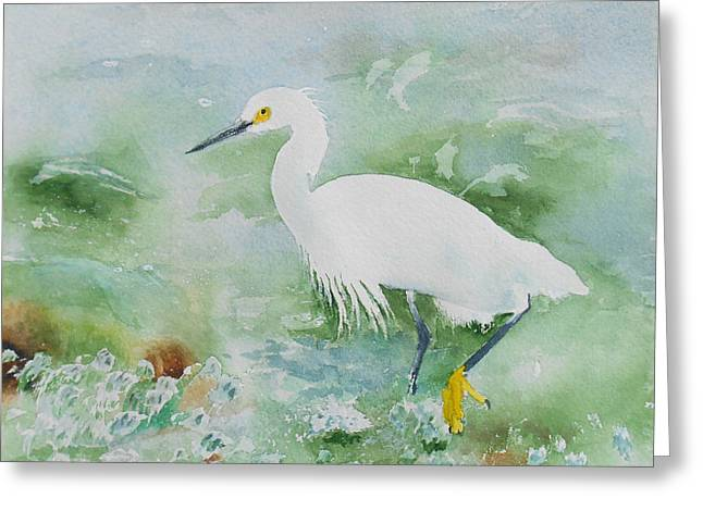 Egret 2 Greeting Card