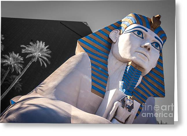 Egypt Or Usa  Greeting Card