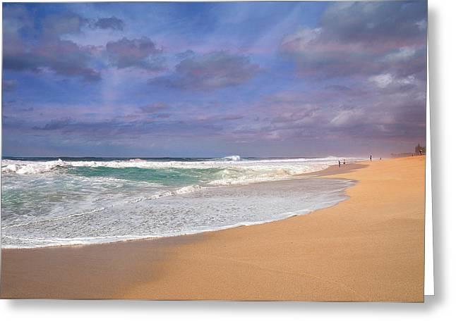 Ehukai Beach Greeting Card
